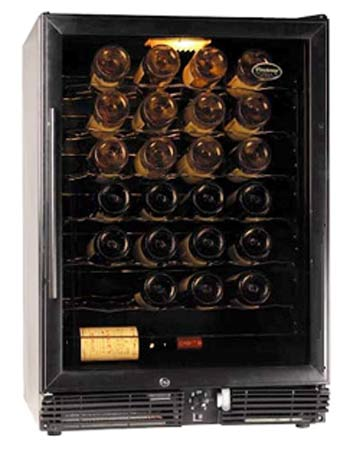 Wine Enthusiast 60 Bottle Wine Refrigerator - Black